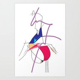 Do you love me Dominic Art Print