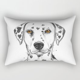 Dalmatian Rectangular Pillow