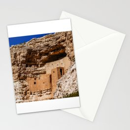 Montezuma's Castle in Arizona Stationery Cards