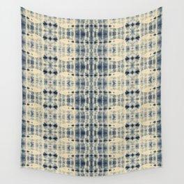 Shibori Pools of Indigo Wall Tapestry