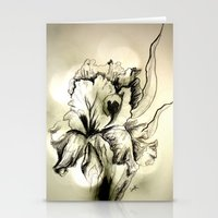 iris Stationery Cards featuring Iris by Suzanne Kurilla