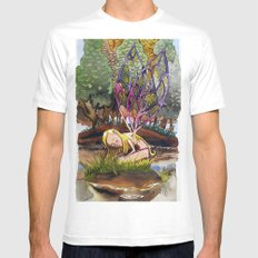 Fairy Mens Fitted Tee MEDIUM White