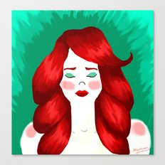 Redheaded Likenesses Canvas Print