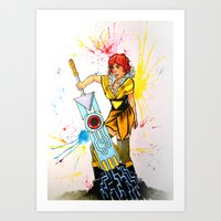 transistor Art Prints featuring Red Transistor by Salzburn Designs Shop