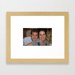 Miri and Javi Framed Art Print