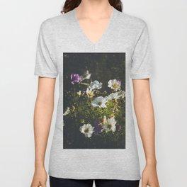 Anemone flowers Unisex V-Neck