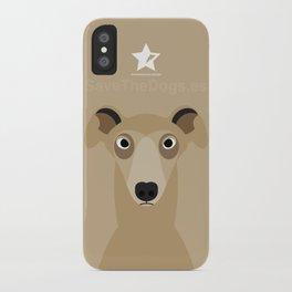 Greyhound (Galgo Ingles) iPhone Case