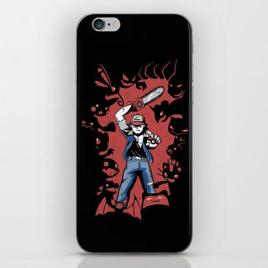Pokevil Dead - Gotta Kill 'Em All iPhone & iPod Skin