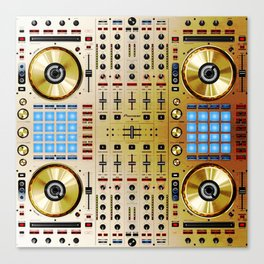 DDJ SX N In Limited Edition Gold Colorway Canvas Print