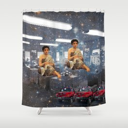 THE TELEVISION FACTORY I Shower Curtain