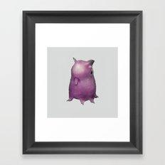 octupus abby Framed Art Print