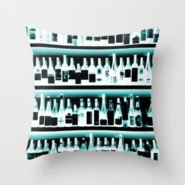 Wine Bottles - version 2 #decor #buyart #society6 Throw Pillow