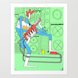 Kaiefsi Art Print
