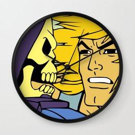 The Eternal Struggle Wall Clock