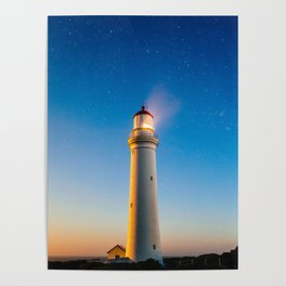 Cape Nelson Lighthouse, Portland, Australia Poster