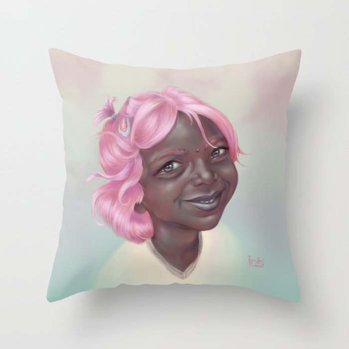 kawaii Throw Pillow