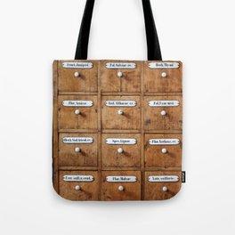 Pharmacy storage Tote Bag
