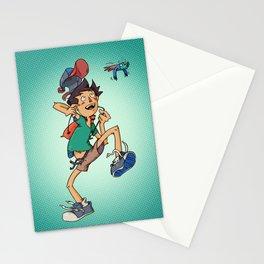 """""""Shala lalla la"""" boy Stationery Cards"""