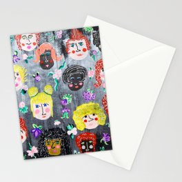 Fearless Faces Stationery Cards