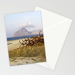 "Abandoned Old Port - Anchors - Sicily - ""VACANCY"" zine Stationery Cards"
