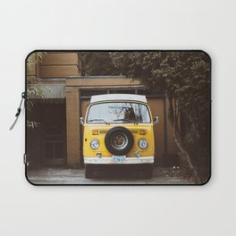 Yellow Van Ready For Road Laptop Sleeve
