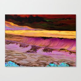 Ocean Waves Print from Original Oil Painting Canvas Print