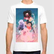 Steven Universe 2X-LARGE Mens Fitted Tee White