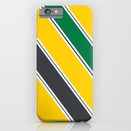 Ayrton Senna Stripes iPhone Case