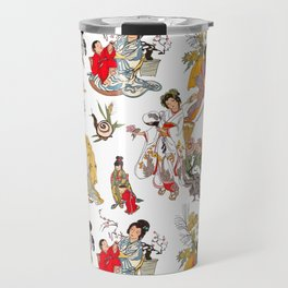 China Cabinet Toss Travel Mug