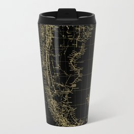 Patagonia - Black and Gold Travel Mug