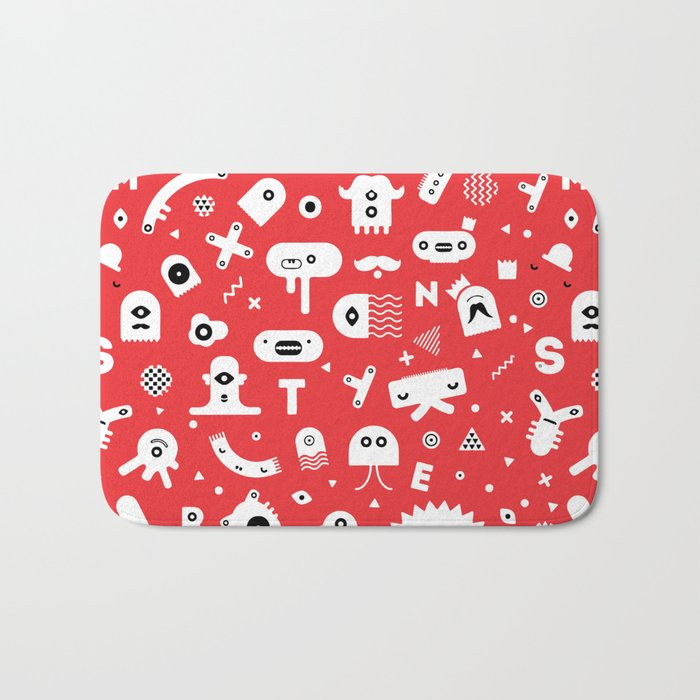 Monsters Bath Mat