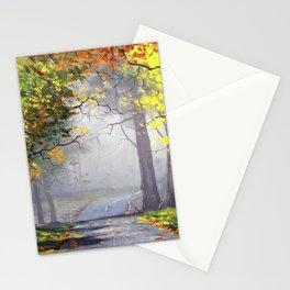 Misty Autumn Mt Wilson Stationery Cards