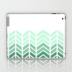 OMBRE LACE CHEVRON Laptop & iPad Skin