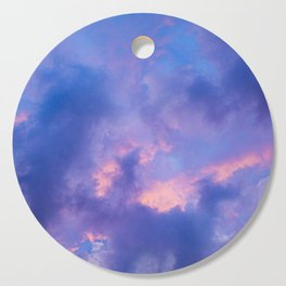 Dusk Clouds Cutting Board