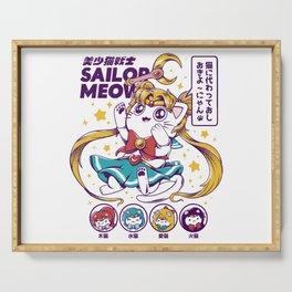 Sailor Meow Serving Tray