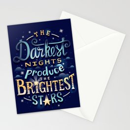 Brightest Stars Stationery Cards