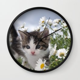 In the Meadow Wall Clock