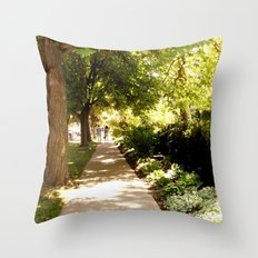 Stroll Throw Pillow