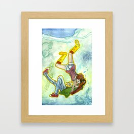 Your Arms Around Me Framed Art Print