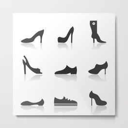 Icon footwear Metal Print