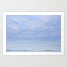 Bells Beach - the surfing V Art Print