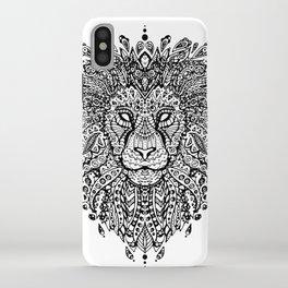 Lion Mandala iPhone Case