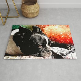 Boston Terrier (Jake) Rug