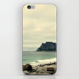 Beach Cliff iPhone Skin