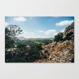 rhodes, greece Canvas Print