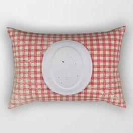 Zero food Rectangular Pillow