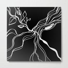 Tree inverted Metal Print