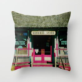 Tannersville General Store Throw Pillow