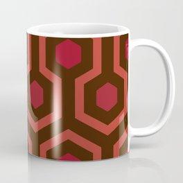 Horror Movie Rug Pattern Coffee Mug