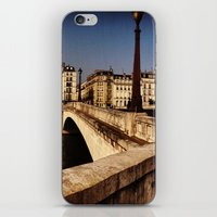Bridges of Paris - Ile Saint Louis iPhone & iPod Skin
